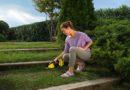 Nożyce akumulatorowe do trawy i krzewów
