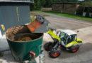 Ładowarka kołowa w rolnictwie